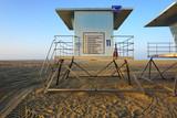 lifeguard tower on beach - 231109193