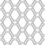 Seamless ornament. Modern background. Geometric modern silver wavy pattern - 231122138