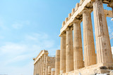 The Akropolis in the Pantheon, in Athens, Greece