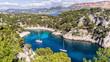 par cnaturel des calanques cassis mer méditerranée france