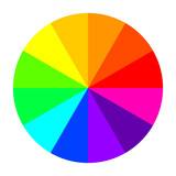 Color wheel. Vector Illustration - 231141904