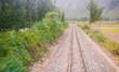 Chemin de fer voie ferrée ollantaytambo machu picchu