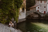 woman in nesso italy - 231197572