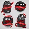 Black Friday Sale Flyers set For Business. Vector illustration