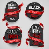 Black Friday Sale Flyers set For Business. Vector illustration - 231197970