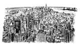 New York skyline panorama - 231198960