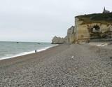 Spiaggia lungo la costa della Normandia - 231209581