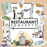 Conceptos de cocina y restaurante - 231217998