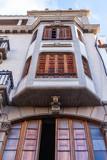 Las-Palmas de Gran Canaria, Spain, on January 6, 2018. Typical city architecture, facade fragment.  - 231224571