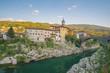 Leinwanddruck Bild - Slowenien-Reise