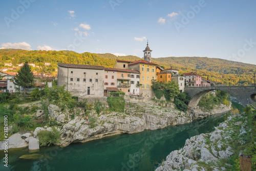 Leinwanddruck Bild Slowenien-Reise