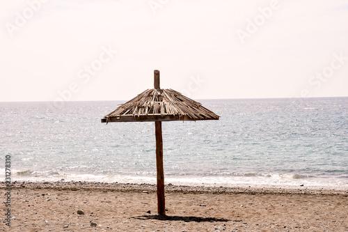 Foto Murales Tropical Beach Umbrella