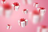 Falling gift box, Valentine's day celebrate - 231294325
