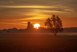 Dawn over Ely, 25th September 2018