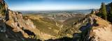 Panorama über das Allgäu bei Füssen mit dem Forggensee