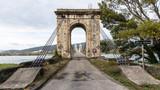 Le pont du Robinet relie la Drôme et l'Ardèche par dessus le Rhône - 231317357