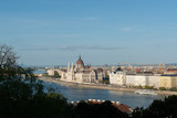 A landscape view of the Hungarian parliament building in the Budapest - 231328113
