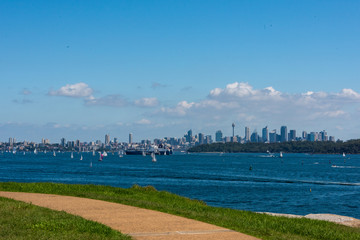 View from Lady Bay to Sydney City © Frederik G. Enneman