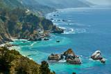 Pacific coast landscape in California - 231367328