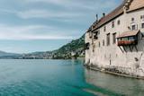 Chillon Castle on Lake Geneva - 231390568