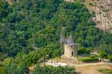 Windmill Moulin Saint Roche in Grimaud-Village