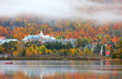 Mont Tremblant village in autumn time