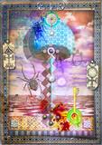 Fungo magico e psichedelico. Manoscritti, disegni e schizzi con segni e simboli esoterici,astrologici e alchemici - 231433778