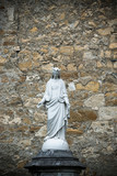 Sculpture of virgin Mary in Nay (France) - 231461340