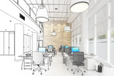 Modern Office Conception 01 (draft) - 231466318