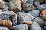 A pile of large cobblestones - 231475364
