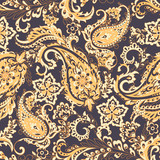 Paisley Floral oriental ethnic Pattern. Seamless Ornamental Indian fabric patterns. - 231485978