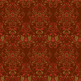 Baroque floral pattern. classic floral ornament - 231487571