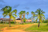 Cuban province, countryside in the evening