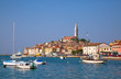 Leinwandbild Motiv Ancient city Rovinj