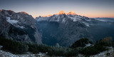 View from King's House on Schachen to Zugspitze at Sunrise, Bavaria, Germany © Markus