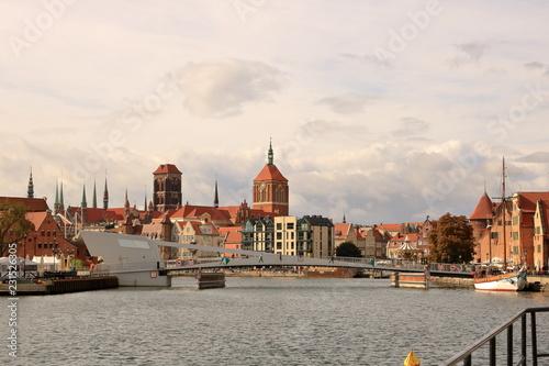fototapeta na ścianę The Beautiful City of Gdansk old town, Poland