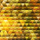 abstract vector stained-glass triangle mosaic background - 231530742
