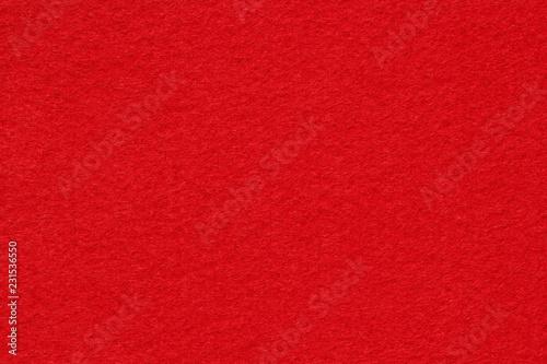obraz PCV Red felt texture background