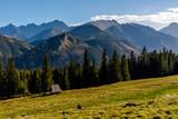 Panorama Tatr Wysokich z Rusinowej polany