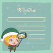 Wishlist for Santa with cute little elfie - 231559592