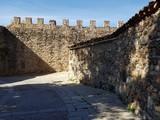 A castle walls in Europe - 231561519