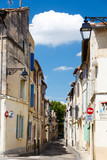 narrow street in arles france