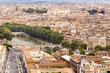 View of Rome from Castel Sant