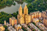 New York Central park aerial view in summer - 231608920