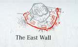 Archaelology map of the remains of the walls of Troy - 231611550
