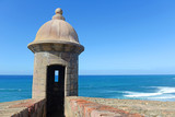 Fortress tower in Old San Juan Puerto Rico - 231615319
