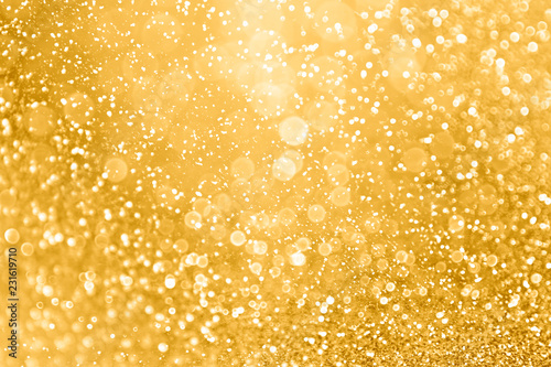 Brokat złoty blask blask tekstura tło złote iskry Boże Narodzenie, rocznicę ślubu lub urodziny