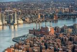 Aerial view of New York City skyline - 231628331