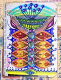 Pianta, e fungo, magica. Disegni e manoscritti con pianta psicotropa delle popolazioni indigene