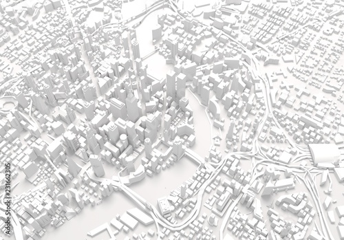 map of a city